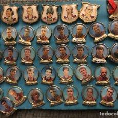 Colecionismo desportivo: PIN FC BARCELONA BARÇA JUGADORES AÑOS 90 KOEMAN GUARDIOLA - PRECIO UNIDAD. Lote 244923865