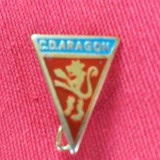 Coleccionismo deportivo: INSIGNIA DE ALFILER FUTBOL - C.D. ARAGON. Lote 178331927