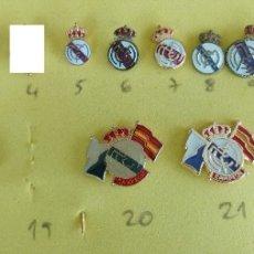 Coleccionismo deportivo: PINS DEL REAL MADRID. Lote 151549566