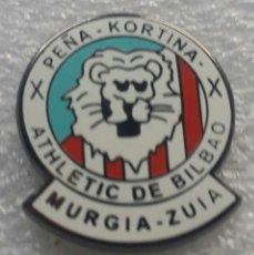 Collezionismo sportivo: ATHLETIC CLUB BILBAO PIN PEÑA KORTINA DE MURGIA. Lote 178748166