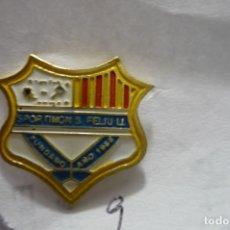Coleccionismo deportivo: PIN FUTBOL SPORTING FEIJULI. Lote 180179311