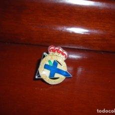 Coleccionismo deportivo: PIN DEL REAL CLUB DEPORTIVO DE LA CORUÑA. ES DE AÑOS 80 SIGLO PASADO. ESMALTADO. Lote 181460488