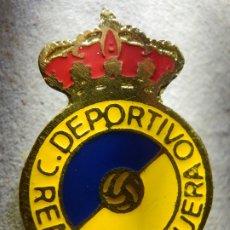 Coleccionismo deportivo: INSIGNIA DE OJAL - - CLUB DEPORTIVO REAL PERDIGUERA - ZARAGOZA - AÑOS 50´S - 60'S. Lote 182138635