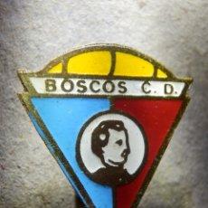 Coleccionismo deportivo: INSIGNIA DE OJAL - BOSCOS C.D. - CLUB DE FUTBOL - ZARAGOZA - CLUB DEPORTIVO - AÑOS 60´S. Lote 182215953