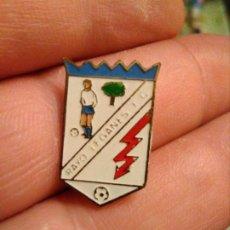 Coleccionismo deportivo: INSIGNIA PINS FÚTBOL RAYO LEGANES F C. Lote 182324187