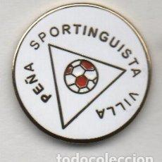 Colecionismo desportivo: PEÑA SPORTINGISTA VILLA ESCUDO 1985-LA CAMOCHA-GIJÓN-ASTURIAS. Lote 182539478