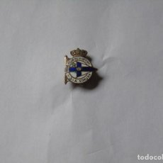 Colecionismo desportivo: PIN TIPO SOLAPA DEL REAL CLUB DEPORTIVO DE LA CORUÑA. Lote 183550930