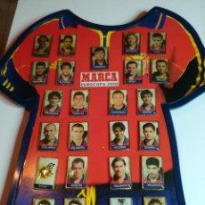 Coleccionismo deportivo: COLECCIÓN COMPLETA PINS SELECCIÓN ESPAÑOLA. EUROCOPA 2000. MARCA. Lote 184155253