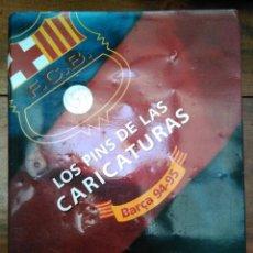 Coleccionismo deportivo: PINS CARICATURES DEL BARÇA. Lote 184735092