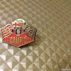 Coleccionismo deportivo: PIN BARÇA CAMPIÓ 92- 93 FUTBOL BARCELONA. Lote 186095148