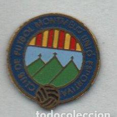 Coleccionismo deportivo: C.F.MONTMELO U.E-MONTMELO-BARCELONA. Lote 186179500