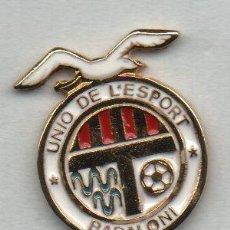 Coleccionismo deportivo: BADALONI U.E.-BADALONA-BARCELONA. Lote 186182292
