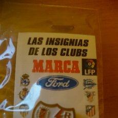 Coleccionismo deportivo: PIN RAYO VALLECANO, COLECCION MARCA PRECINTADO. Lote 189762561