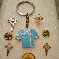Coleccionismo deportivo: LOTE PINS INSIGNIAS FÚTBOL CELTA DE VIGO. Lote 189974903