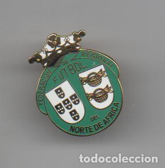 FEDE.TERRITORIAL CEUTA Y MELILLA (1986-1999)-CEUTA (Coleccionismo Deportivo - Pins de Deportes - Fútbol)