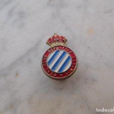 Coleccionismo deportivo: INSIGNIA ANTIGUA RCD ESPANYOL. Lote 191820276