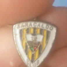 Coleccionismo deportivo: INSIGNIA DEL BARACALDO FÚTBOL CLUB BARAKALDO. ESCUDO DEL AÑO 1971.. Lote 192321615
