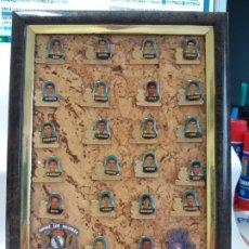 Coleccionismo deportivo: HISTORICOS JUGADORES REAL MADRID AÑOS 80/90 QUINTA DEL BUITRE 22 PINS. Lote 192784777