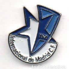 Collectionnisme sportif: INTERNACIONAL DE MADRID C.F.-BOADILLA DEL MONTE-MADRID. Lote 194374667