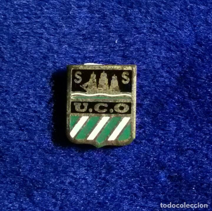 ANTIGUA INSIGNIA ESMALTADA FUTBOL ONDARRETA (Coleccionismo Deportivo - Pins de Deportes - Fútbol)