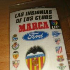 Coleccionismo deportivo: PIN VALENCIA, COLECCION MARCA PRECINTADO. Lote 195050845