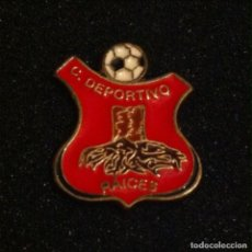 Coleccionismo deportivo: PIN CLUB DEPORTIVO RAICES. Lote 195168816