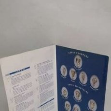 Coleccionismo deportivo: CARPETA LES COPES DEL BARÇA - COMPLETA (13 PINS) - FÚTBOL CLUB BARCELONA. Lote 195176361