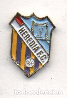 HEREDIA F.C.-PORTUGALETE-BIZKAIA (Coleccionismo Deportivo - Pins de Deportes - Fútbol)