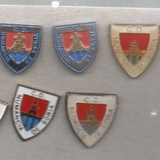 Collectionnisme sportif: LOTE DE 8 PINS DE NUMANCIA C.D.-SORIA. Lote 197923943