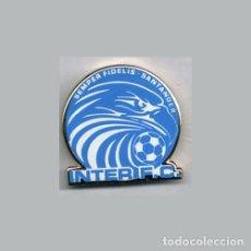 Collectionnisme sportif: INSIGNIA / PIN DE EQUIPO DE FÚTBOL - C.D.E. INTER SEMPER FIDELIS F.C.. Lote 199317295