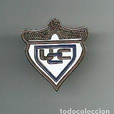 Collectionnisme sportif: INSIGNIA / PIN DE EQUIPO DE FÚTBOL - U.C. CARTES. Lote 199425342
