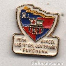 Collectionnisme sportif: P.B.LAS 4 DEL CENTENARIO-PURCHENA-ALMERIA-PEÑA BARCELONA FC. Lote 201854013