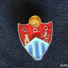 Coleccionismo deportivo: PIN DE OJAL DEL CLUB DEPORTIVO ORENSE. Lote 202002086