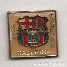 Collectionnisme sportif: P.B.NEJERINA-NAJERA-RIOJA-PEÑA BARCELONA FC. Lote 202040171