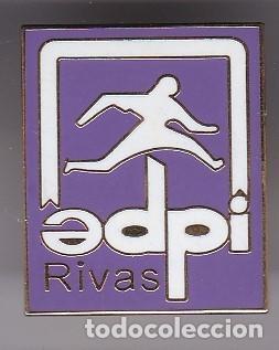 PIN DE FUTBOL DEL CLUB DEPORTIVO EDPI RIVAS (FOOTBALL) MADRID (Coleccionismo Deportivo - Pins de Deportes - Fútbol)