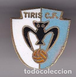 PIN DE FUTBOL DEL CLUB DEPORTIVO TIRIS (FOOTBALL) VALENCIA (Coleccionismo Deportivo - Pins de Deportes - Fútbol)