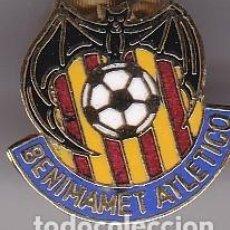 Collezionismo sportivo: PIN DE FUTBOL DEL CLUB DEPORTIVO BENIMAMET ATLETICO (FOOTBALL) VALENCIA. Lote 204157308