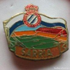 Colecionismo desportivo: ESTADIO SARRIA INSIGNIA. Lote 204237546