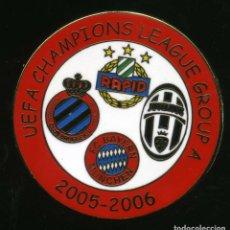 Coleccionismo deportivo: UEFA CHAMPIONS LEAGUE 2005-06 - GRUP A. Lote 204274173