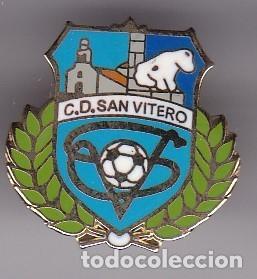 PIN DE FUTBOL DEL CLUB DEPORTIVO SAN VITERO (FOOTBALL) ZAMORA (Coleccionismo Deportivo - Pins de Deportes - Fútbol)