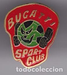 PIN DE FUTBOL DEL CLUB DEPORTIVO BUGATTI SPORT (FOOTBALL) BARCELONA (Coleccionismo Deportivo - Pins de Deportes - Fútbol)