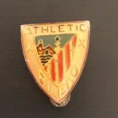 Collezionismo sportivo: INSIGNIA DE SOLAPA PIN CLUB DE FUTBOL ATHLETIC DE BILBAO. Lote 205544545