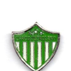 Coleccionismo deportivo: FUTBOL DE BOLIVIA, CLUB CHACO PETROLERO, PIN. Lote 206280543