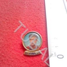 Coleccionismo deportivo: TUBAL FIGO BARCELONA PIN CJ1. Lote 206921840