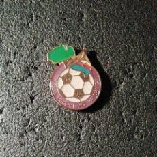 Coleccionismo deportivo: PIN C. D. VALDALIGA - TRECEÑO (CANTABRIA). Lote 207146182
