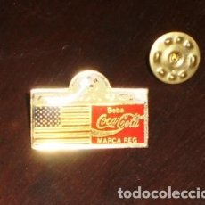 Coleccionismo deportivo: PIN INSIGNIA VINTAGE - USA - COCA COLA - ITALIA 90. Lote 207993242