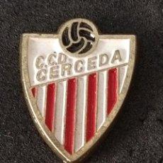 Colecionismo desportivo: PIN FUTBOL - CORUÑA - CERCEDA - CCD CERCEDA. Lote 208169301