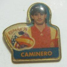 Coleccionismo deportivo: PIN MUNDIAL FÚTBOL ESTADOS UNIDOS 94 1994. CAMINERO. Lote 208864901