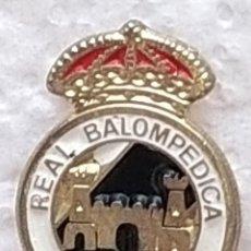 Colecionismo desportivo: PIN FUTBOL - CADIZ - LA LÍNEA DE LA CONCEPCIÓN - REAL BALOMPIE LINENSE. Lote 209080605