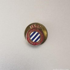 Colecionismo desportivo: ANTIGUA INSIGNIA - PIN DE FÚTBOL. REAL CLUB DEPORTIVO ESPAÑOL (BARCELONA). DE SOLAPA.. Lote 209771517
